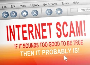 internet scam photo