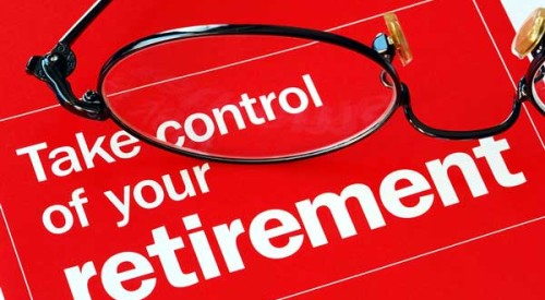 control your retirement note with eyeglasses