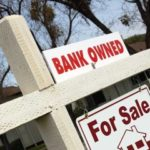 photo of bank owned real estate sign