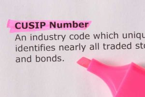 CUSIP-numbers