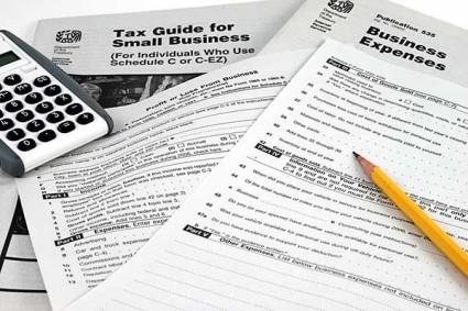 photo IRS Schedule C